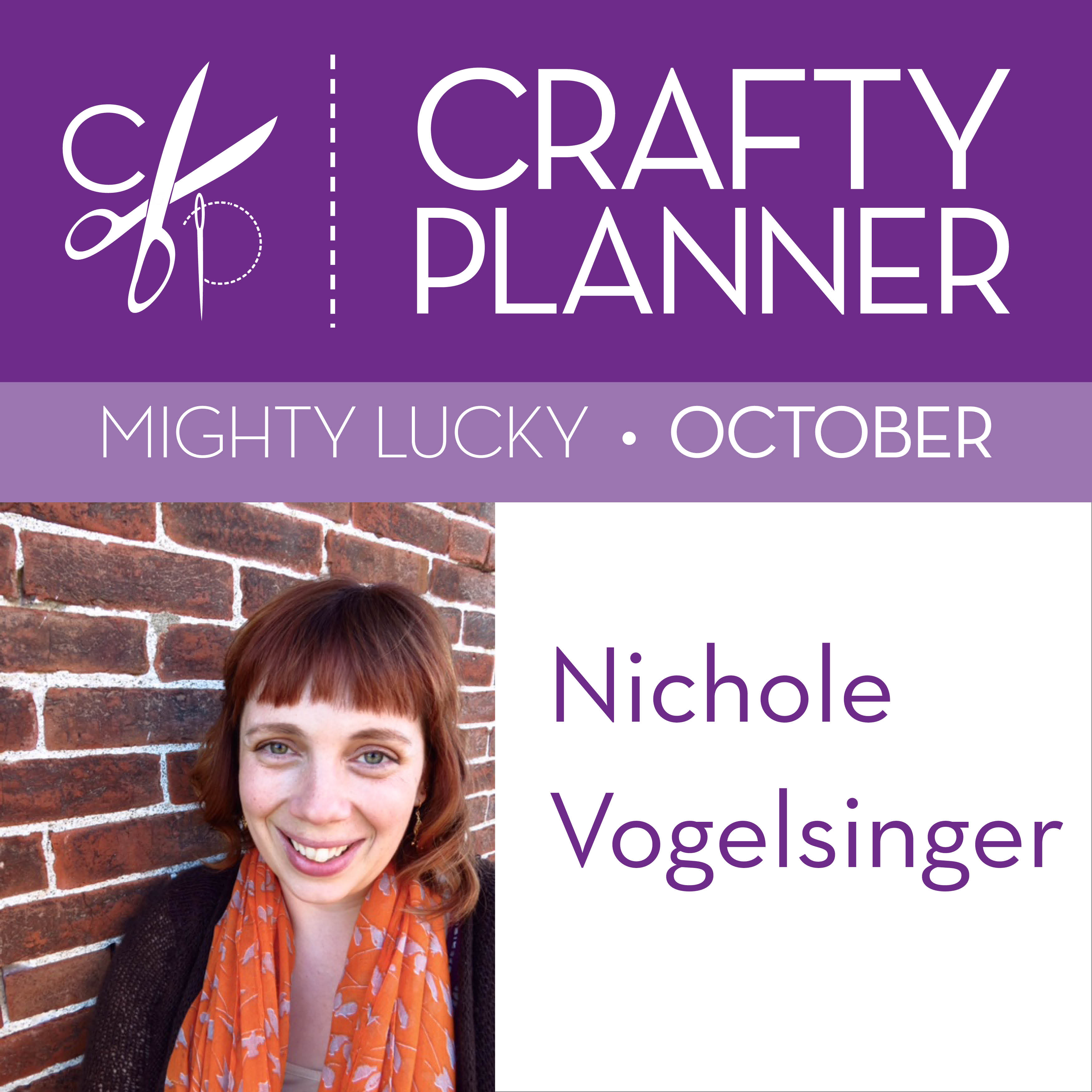 Nichole Vogelsinger of Wild Boho / Mighty Lucky October Edition