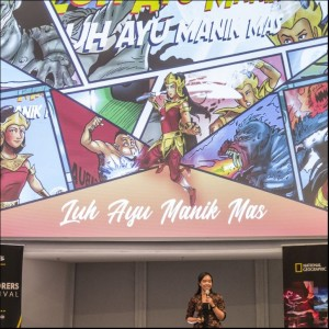 #1 Using a Digital 'Superhero' in Enviromental Activism - Clara Listya Dewi