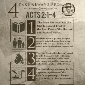 Episode Two: Bishop Andrewes and the Outpouring of the Spirit in Acts 2:14
