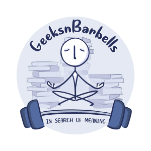 GeeksnBarbells Podcast Ep.3- Books, connection, and the art of being selfish