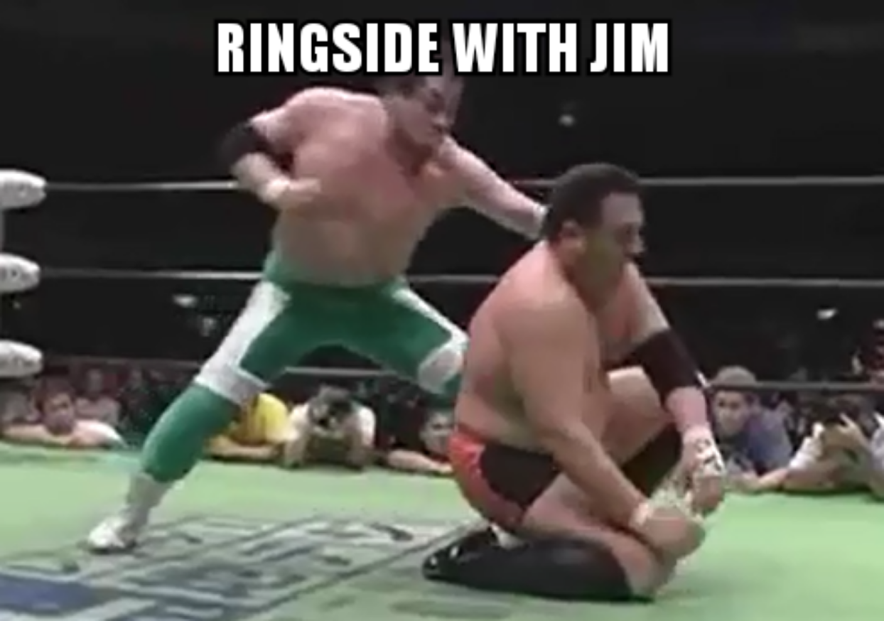 Ringside with Jim Episode 4