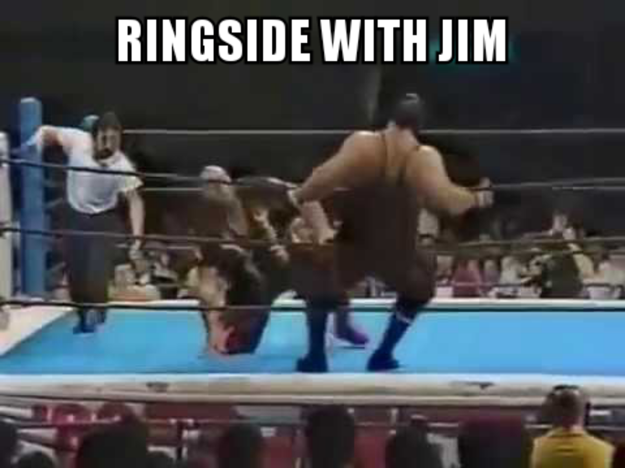 Ringside with Jim Episode 5