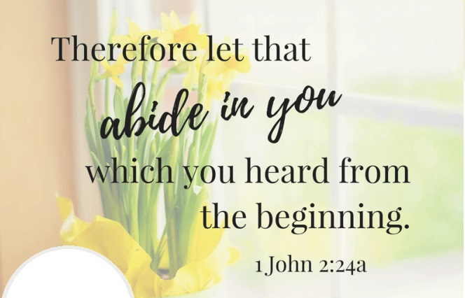 Let That Abide in You - I John 2:18-27 (Jeremy Bowling)