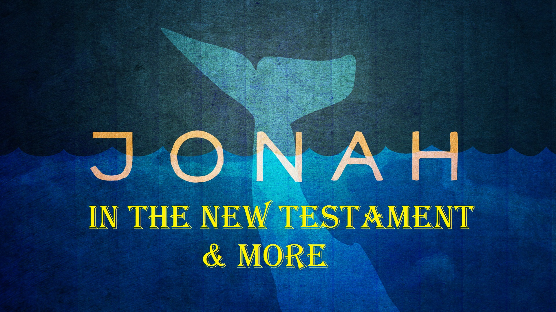 Jonah in the New Testament & More (Jeremy Bowling)