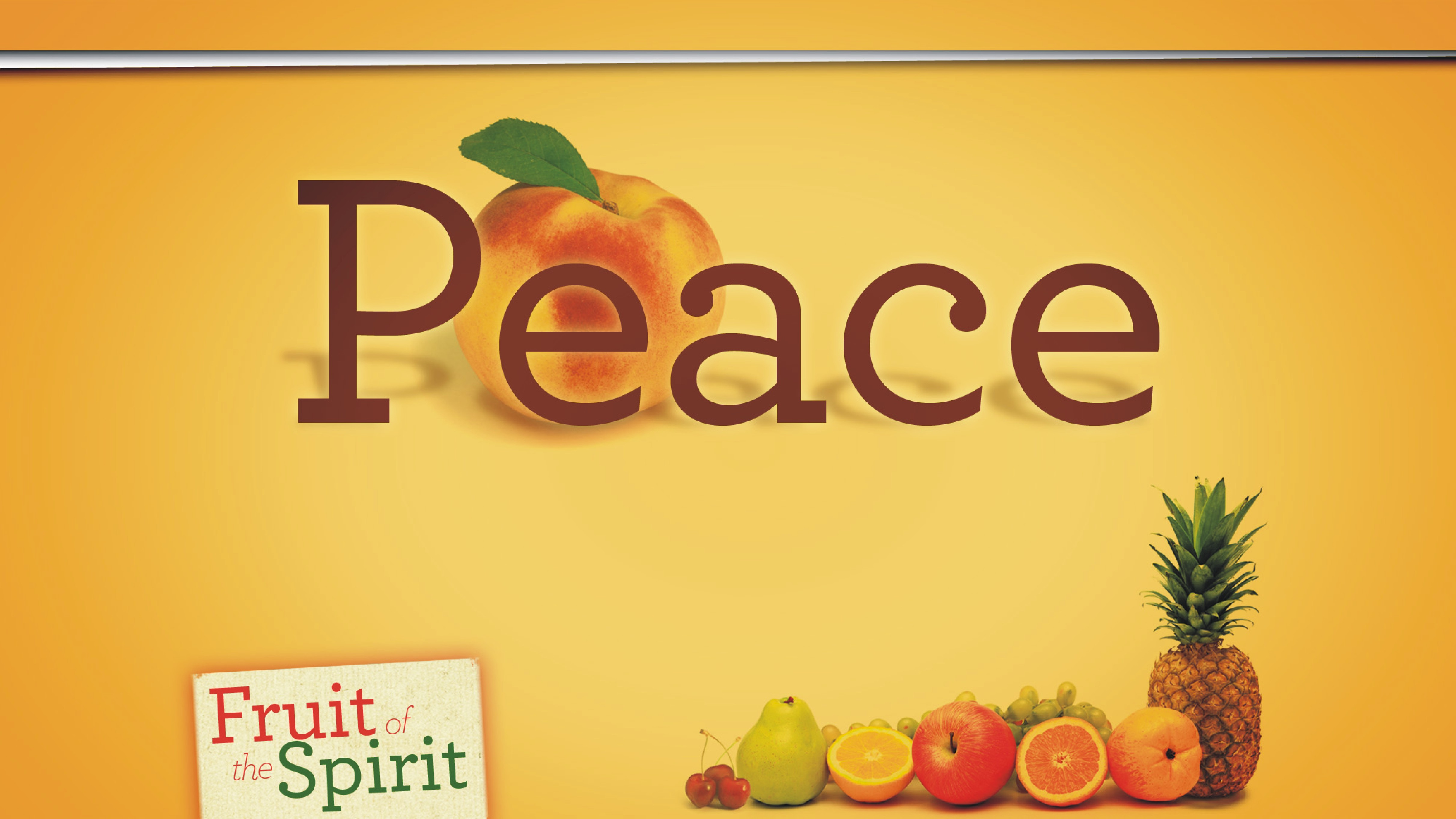 Peace - Fruit of the Spirit Series (Jeremy Bowling)