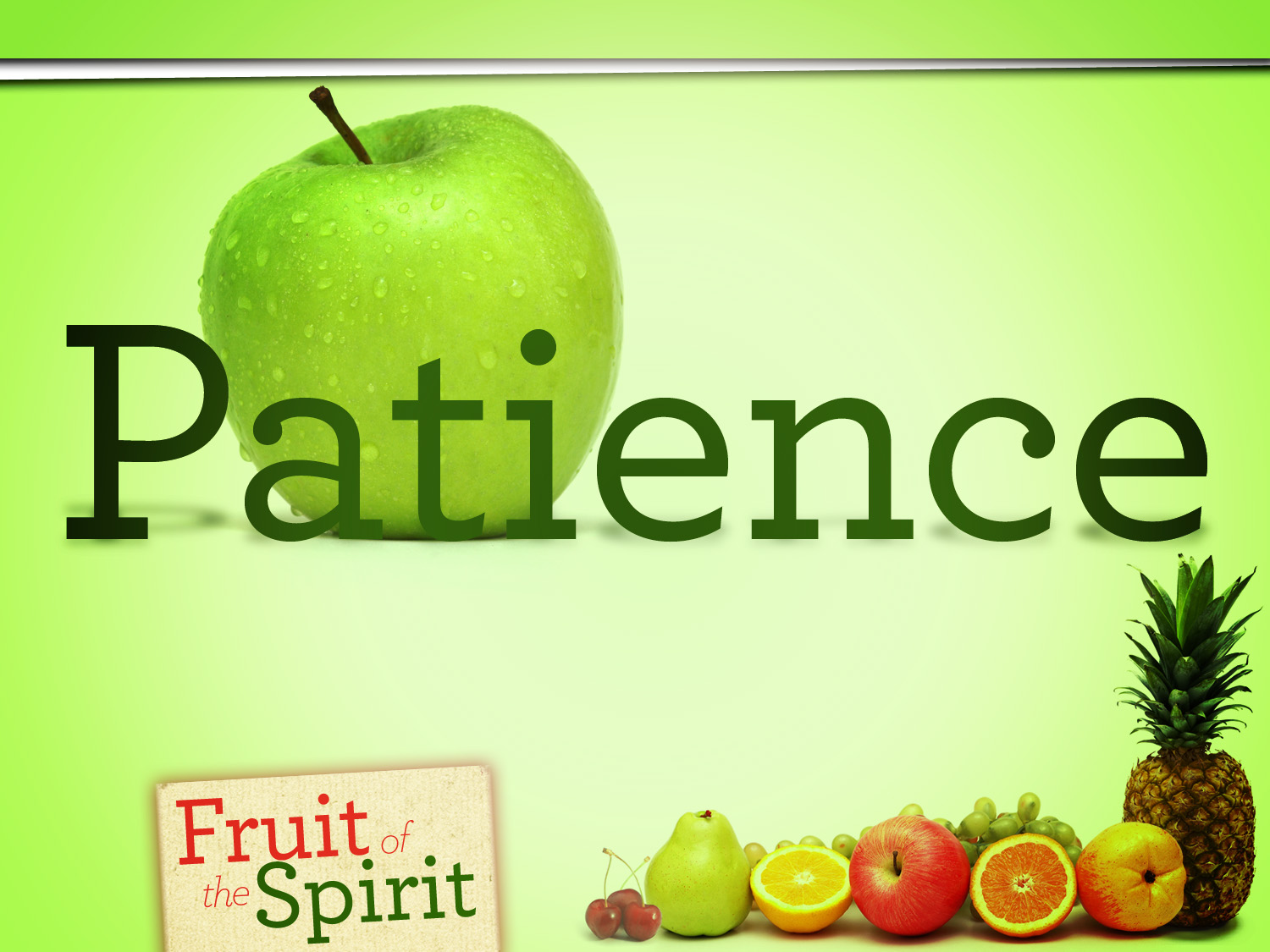 Longsuffering- Fruit of the Spirit Series (Jeremy Bowling)