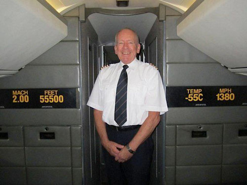 #7 Former Concorde Pilot Tony Yule talks on Supersonic Air Travel