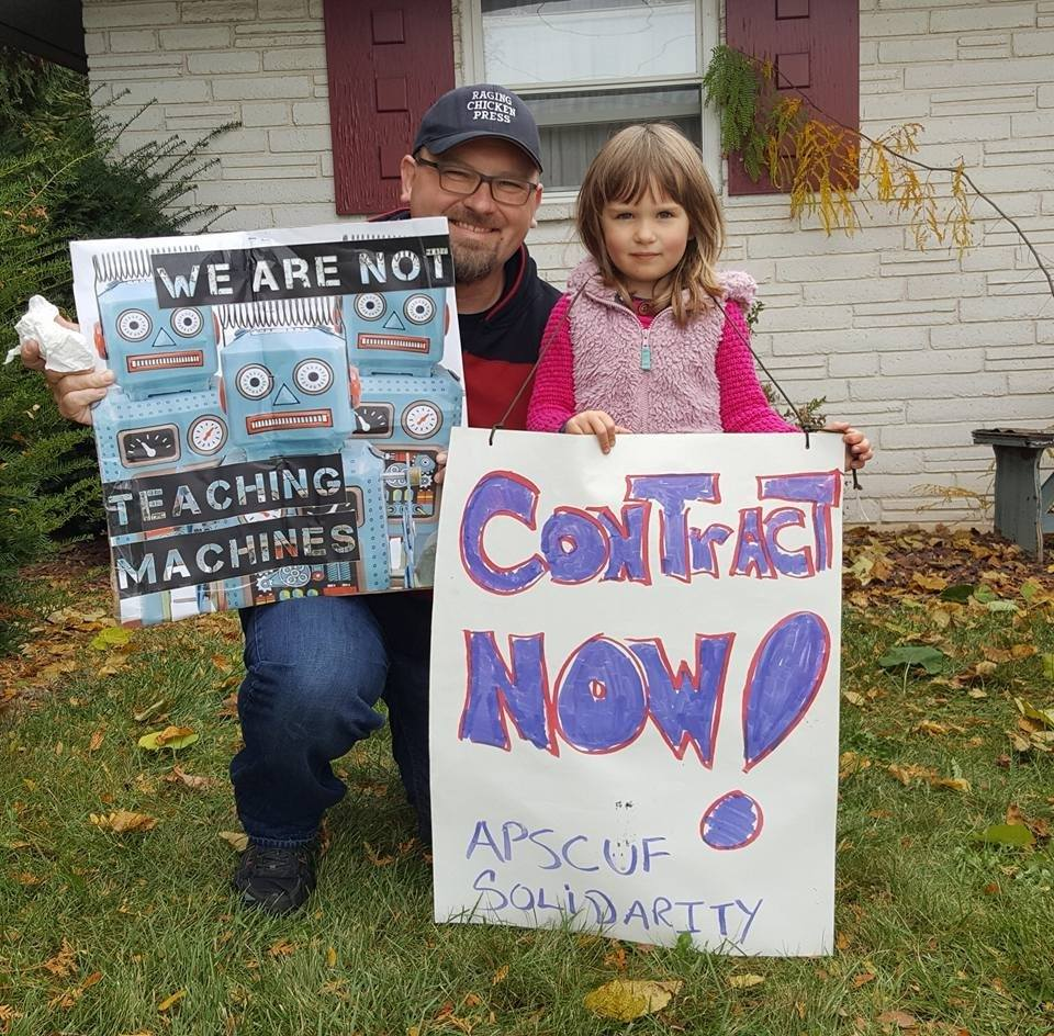 Solidarity with PASNAP on Strike - A Father/Daughter message