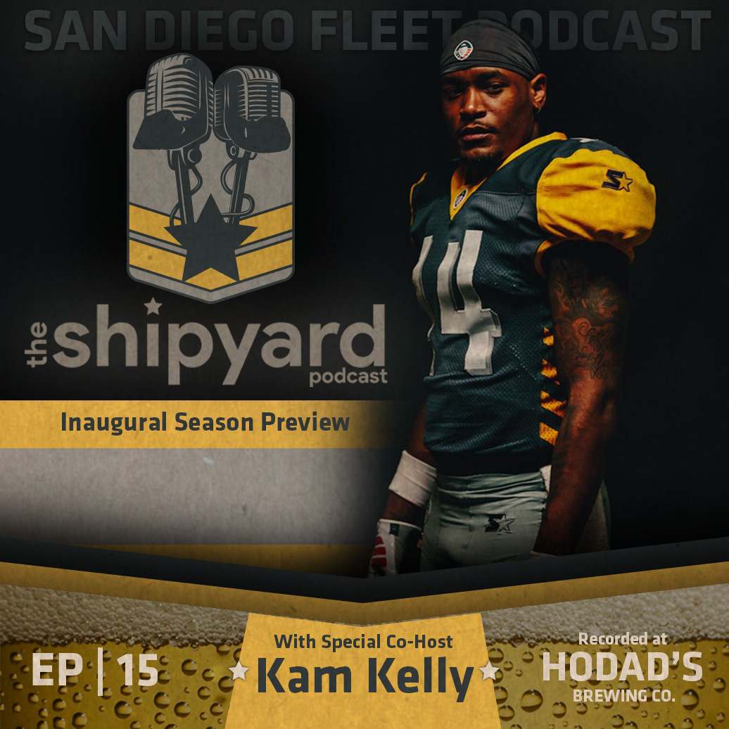 015 | A full hour with San Diego Fleet WR Kam Kelly at Hodad's Brewing Company