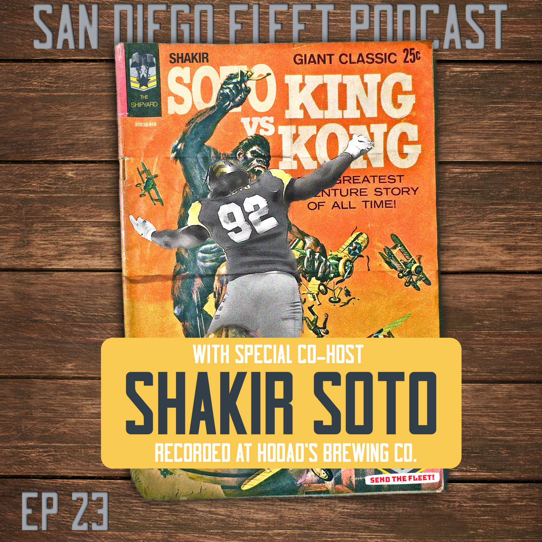 023 | Shakir Soto Co-Hosts from Hodad's Brewing.  What's it like, to be a Fleetm'n