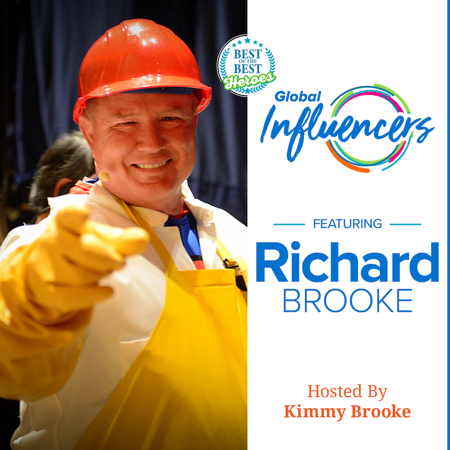 Richard Bliss Brooke - Global Influencer