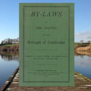 By-laws Council of the Borough of Cambridge