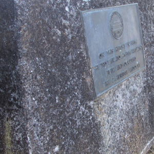 Plaque for Redoubt Site