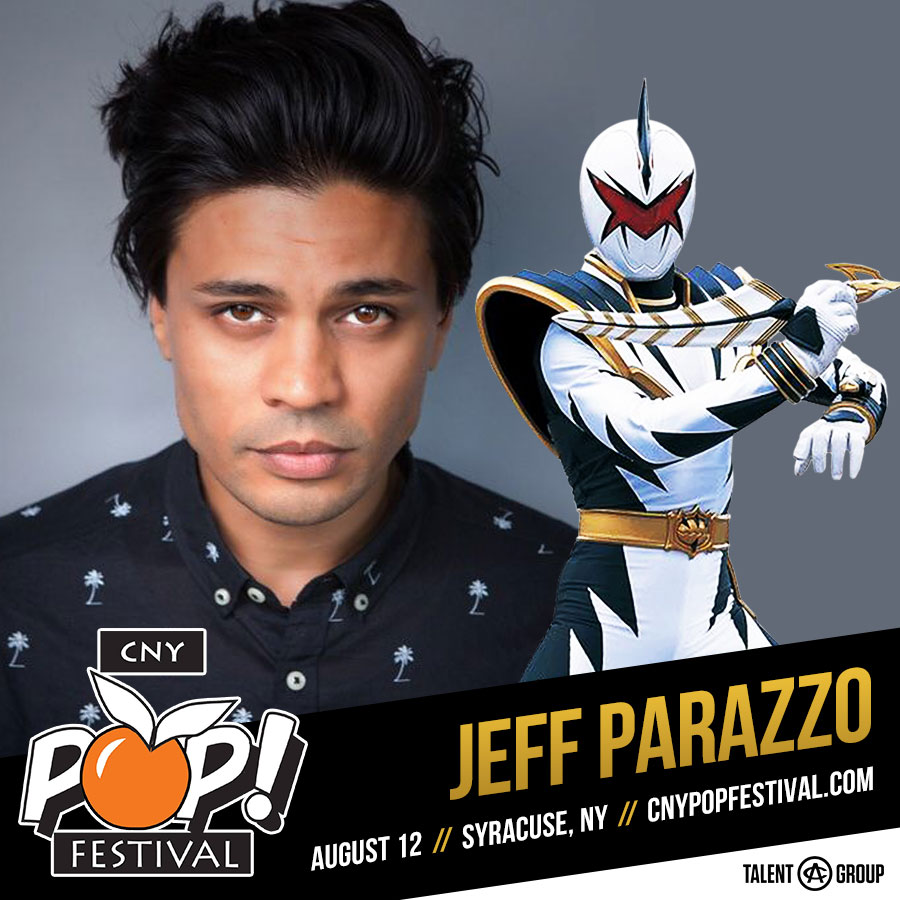 CNY POP FESTIVAL SPOTLIGHT CONVERSATION - Dan Tortora with Jeff Parazzo, the White DinoThunder Power Ranger who has also acted in 12 Monkeys, Molly's Game, & More