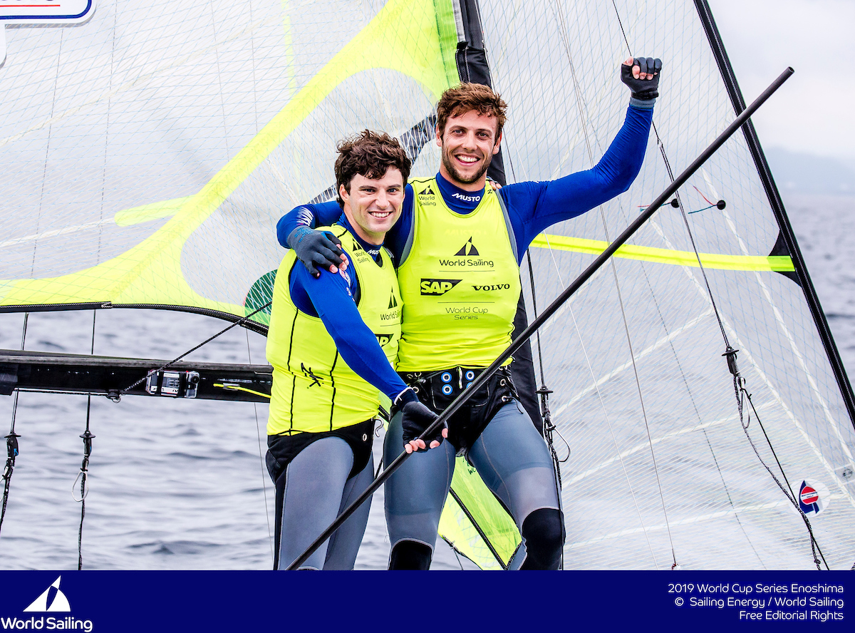 Why Peters & Sterritt are so happy with 49er gold at the Sailing World Cup