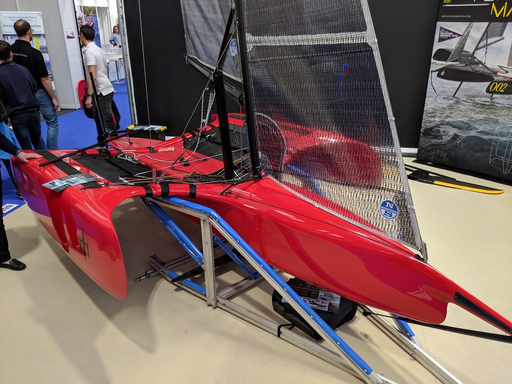 The Most Futuristic and Retro Boats of the Dinghy Show