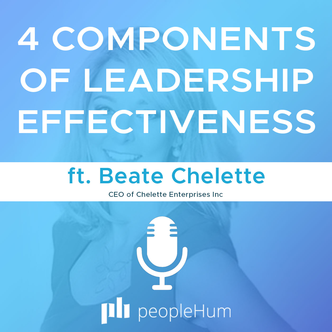 4 components of leadership effectiveness,  ft. Beate Chelette