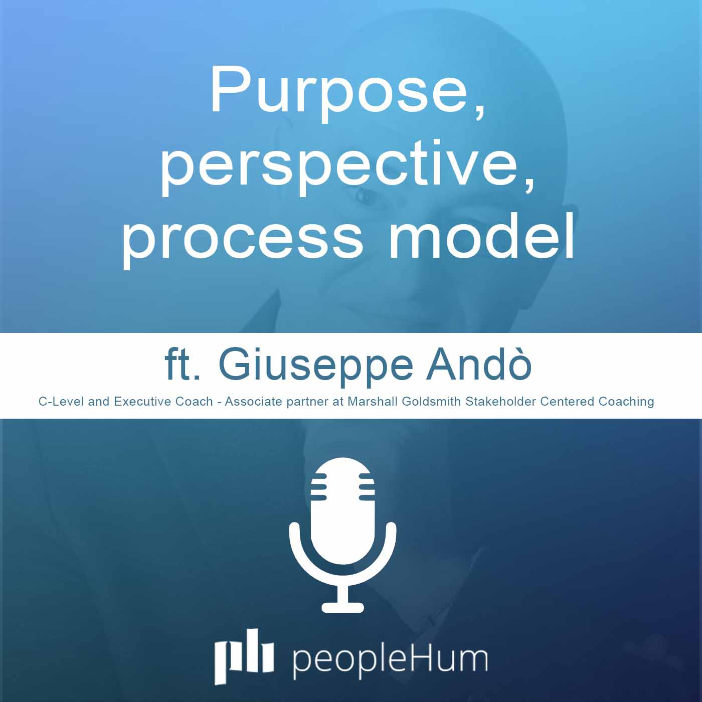 Purpose, perspective, process model, ft. Giuseppe Andò