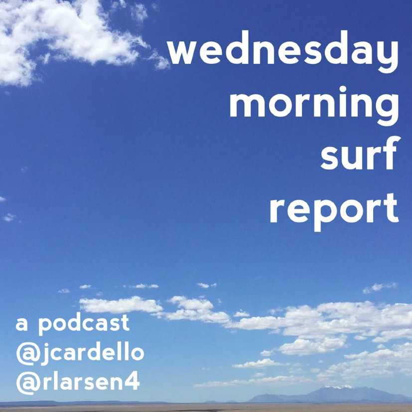 Wednesday Morning Surf Report LIVE at Big Pine Comedy Fest With Comedians Anya Volz and Justin Thompson