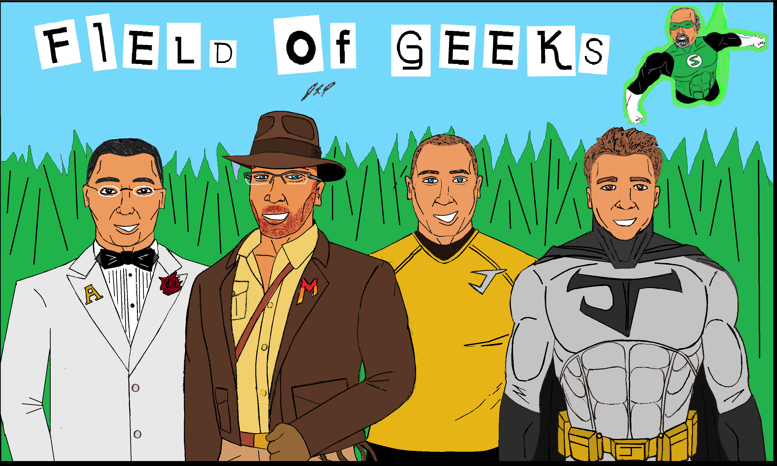 Field of Geeks Podcast: Episode 39--FLASHPOINT TO VADER CONFIRMATION!