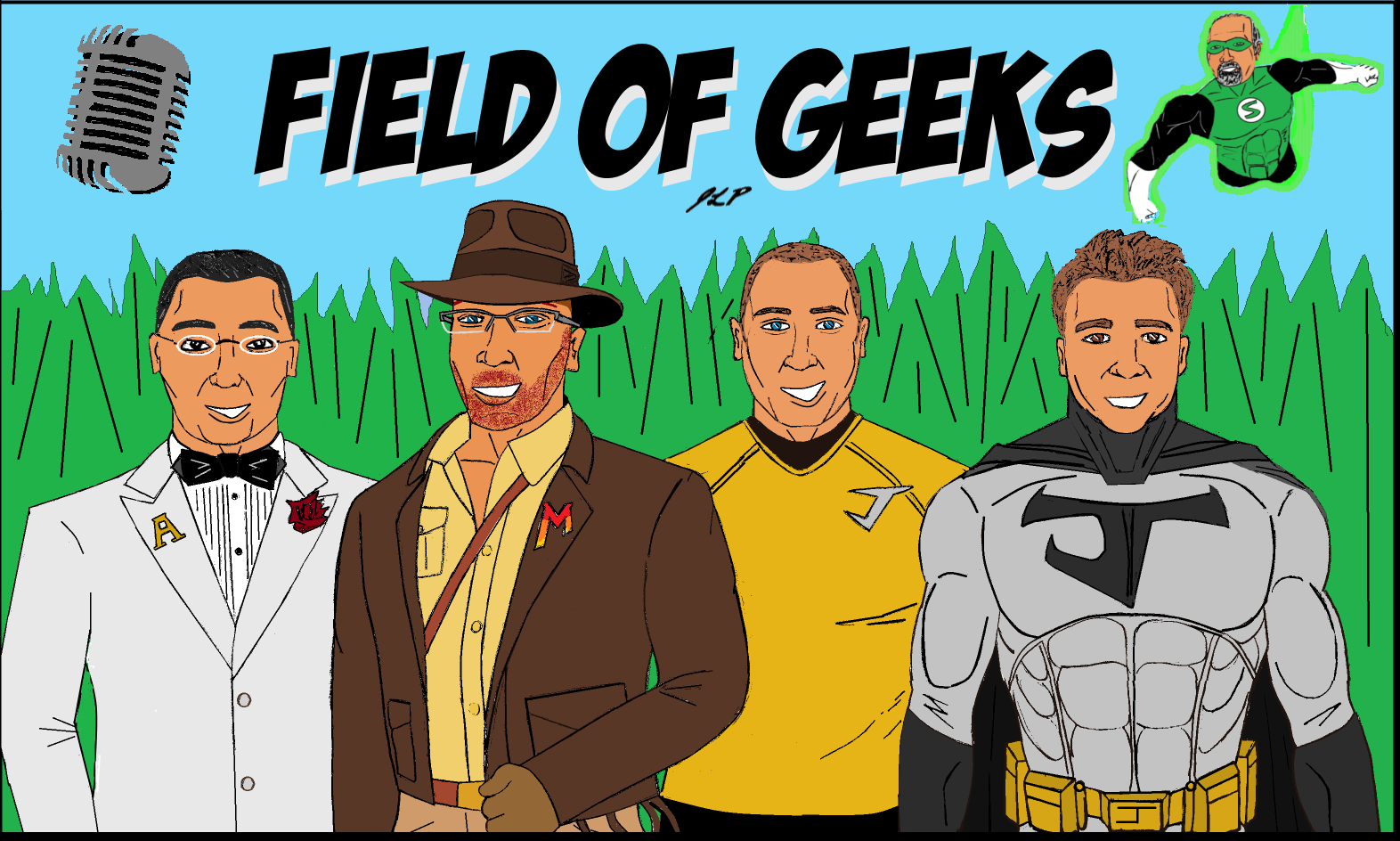 Field of Geeks Podcast: Episode 45--BLANKY BOT with a side of GEEK NEWS!