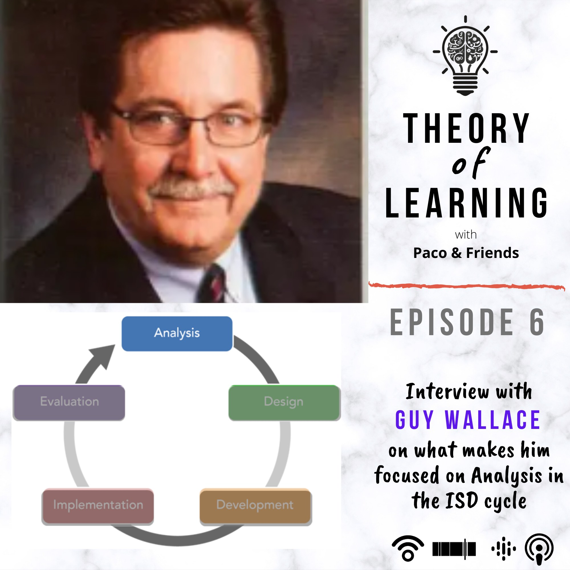 Episode 06: Guy Wallace on importance of Analysis in Learning Design!