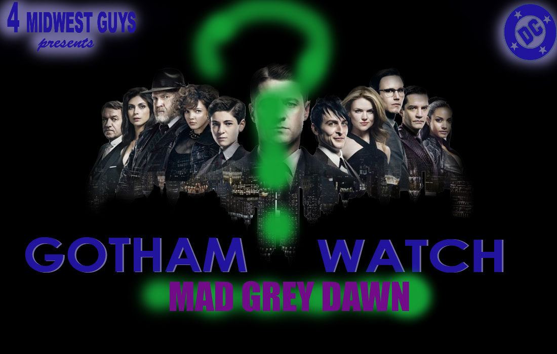 4MWG PRESENTS GOTHAM WATCH MAD GREY DAWN