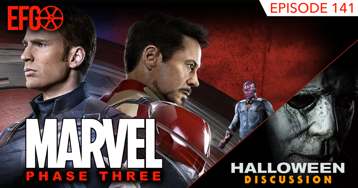 Episode 141 - Nick Watches (and LOVES) a Marvel Movie?!