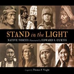 Write On Four Corners- March 11: Thomas Voight, Stand in the Light: Native Voices Illuminated by Edward S. Curtis