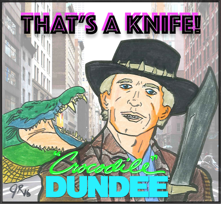 Episode #74: THAT's A Knife | Crocodile Dundee (1986)