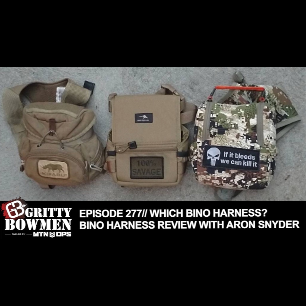 EPISODE 277: Which Bino Harness? Bino Harness Review with Aron Snyder