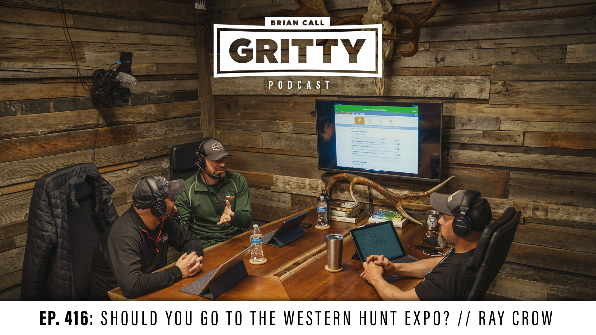 EP. 416: SHOULD YOU GO TO THE WESTERN HUNT EXPO? // RAY CROW
