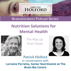 Brainstormers Series - Nutrition Solutions For Mental Health