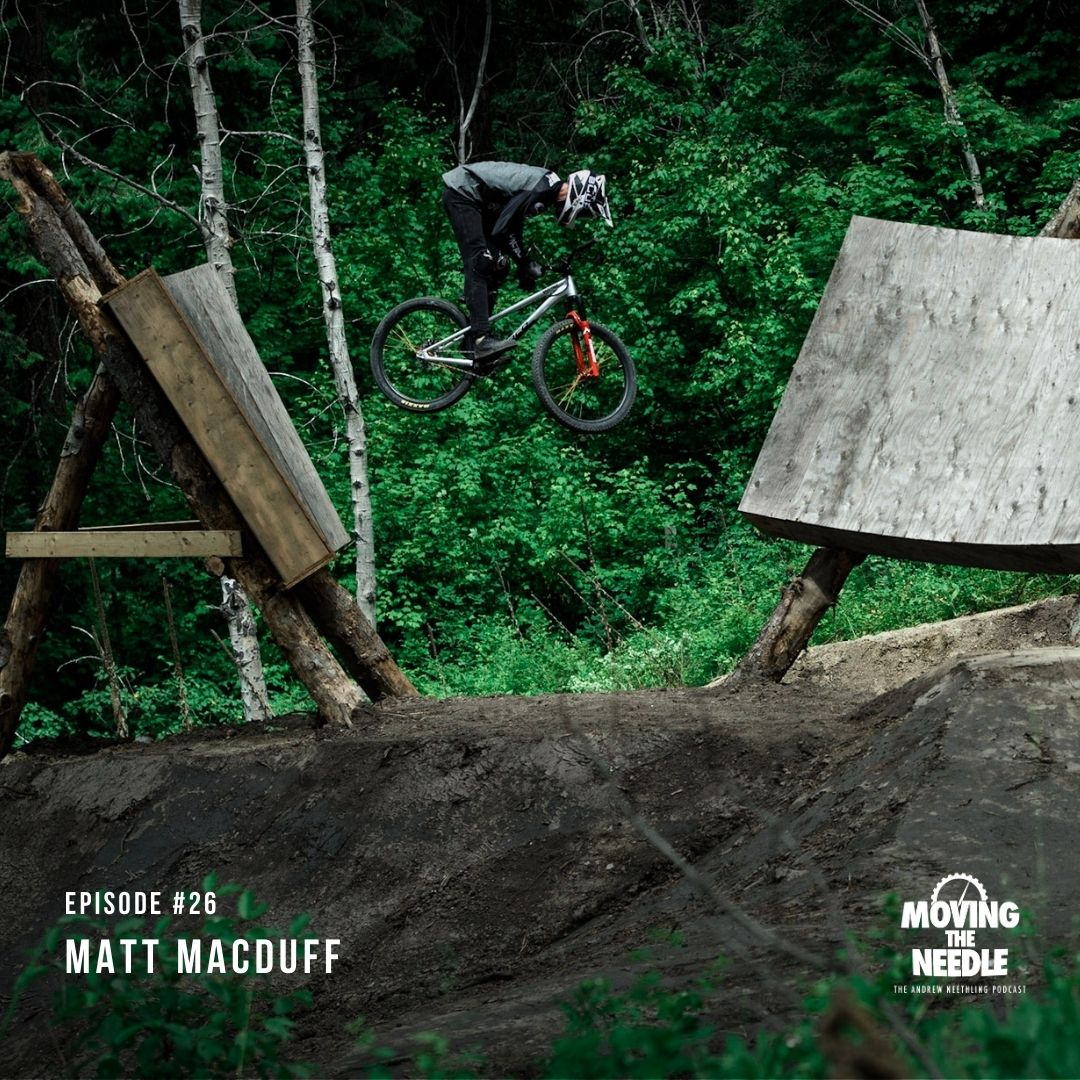 #26. Matt Macduff: When pushing the limits of Freeride MTB almost cost you your life.