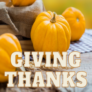 Giving Thanks: A Response to Mercy