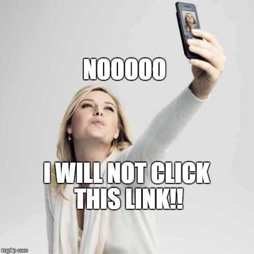 Special Podcast : So I Didn't Click the Link ... Sharapova Doping!