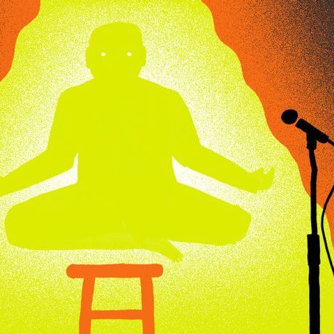 Can comedians be spiritual?