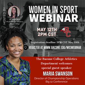 A Woman's Worth with Maria Swanson, director of championship operations, Big 12 conference