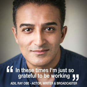 Helen chats to actor, writer & broadcaster Adil Ray OBE