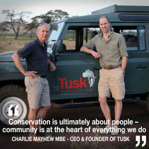 Helen chats to Charlie Mayhew MBE – CEO & Founder of Tusk