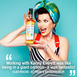 Helen chats to comedy actress & entrepreneur Cleo Rocos