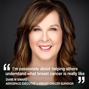 """Helen chats to Aerospace Executive Diane Simard about her """"unlikely gift"""" of breast cancer"""