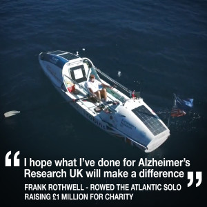 Helen meets 70 year-old Frank Rothwell who raised £1 million rowing the Atlantic solo