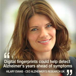 Helen chats to Hilary Evans - CEO of Alzheimer's Research UK