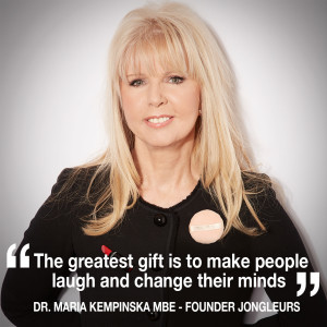 Helen chats to Dr Maria Kempinska MBE - founder of Jongleurs Comedy Clubs