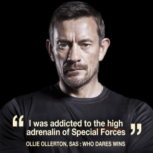 Interview with SAS : Who Dares Wins star Ollie Ollerton