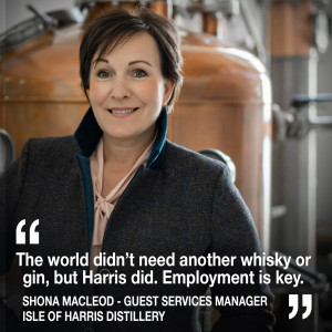 Helen heads to the Outer Hebrides to discover the story of the Isle of Harris Distillery