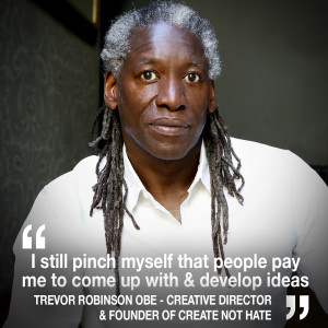 Helen chats to Quiet Storm advertising Creative Director Trevor Robinson OBE