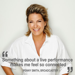 Interview with broadcaster Penny Smith