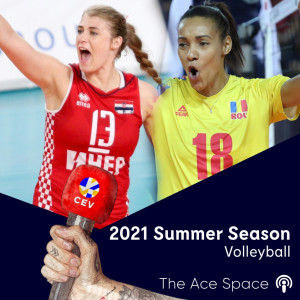Croatia's Samanta Fabris & Romania's Nneka Onyejekwe chat about their exciting summers ahead and how proud they are of their countries hosting EuroVolley | 2021 Summer Season
